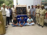 Four Notorious Thieves held Gold,Silver Worth Rs.32 Lakhs Recovered by Chandra Layout police