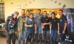 Cafe Immigrant CP hosted  India's first ever International Helmet Awareness Day Ride