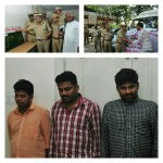 Notorious Inter-state robbers' gang busted,Property worth Rs.40 Lakhs recovered by Bommanahalli police,