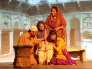 """Jis Lahore Nhi Dekhya O Jamiya Nhi"" Hindi Theatre Play"