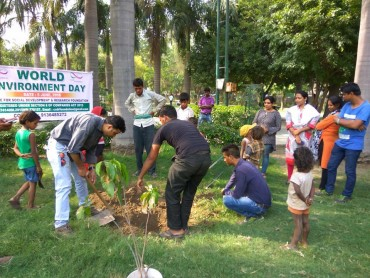 CSDR Foundation Celebrates World Environment Day with Clean and Green Drive