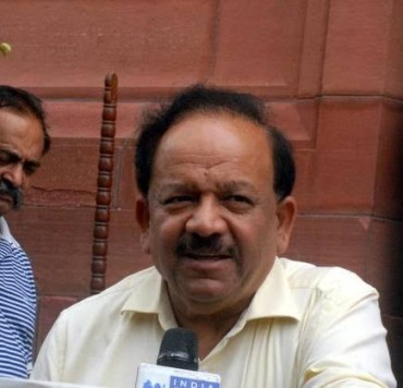 Harsh Vardhan Union Environment Minister,Says Open to review of cattle slaughter notice: