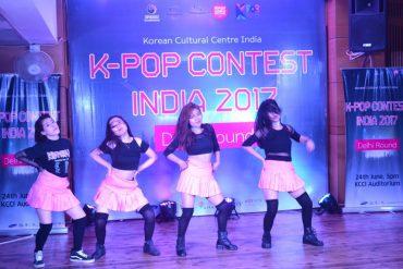 K-POP Contest 2017 India showcases the Talent of Delhiites