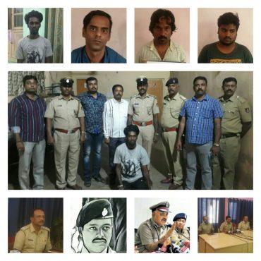 Jilted Lover Including 3, Supari killers (Assassins),Arrested by Cottonpet Police