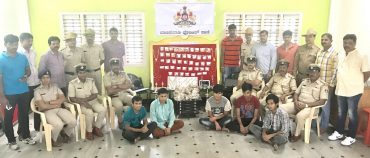 Notorious Nepalese Gang Arrested by Banaswadi police Recovered Stolen Property worth Rs.80 Lakhs.