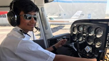 14-year-old Indian boy in UAE is youngest pilot to fly single-engine plane