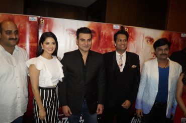 The First Poster launch of Arbaaz Khan & Sunny Leone starter 'Tera Intezar'