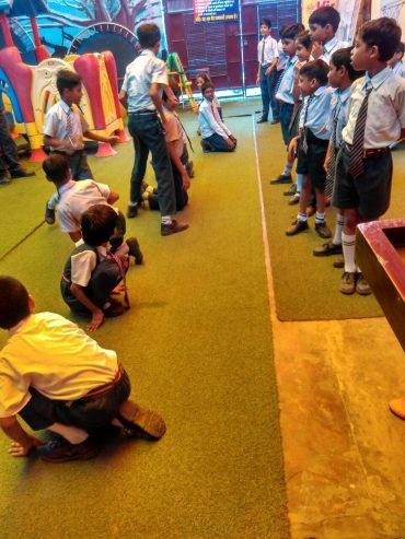 स्कूली बच्चों ने उत्साह से मनाया गया खेल दिवस