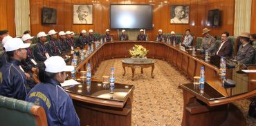 Group of students from Manipur call on MoS –  Kiren Rijiju