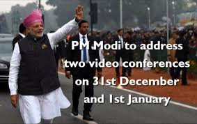 PM to address two video conferences on 31st December and 1st January