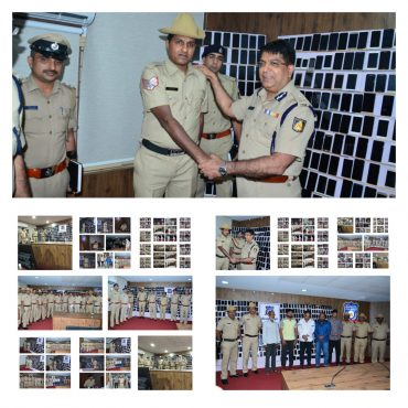 Inter-State mobile phone lifters gang busted,mastermind with nine others arrested,563 High End Mobile Phones Worth Rs.1.25 Crore recovered by Central Division police