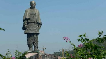 Prime Minister pays floral tributes to Sardar Vallabhbhai Patel at Statue of Unity Kevadiya  Administers National Unity Day PledgePrime Minister pays floral tributes to Sardar Vallabhbhai Patel at Statue of Unity Kevadiya  Administers National Unity Day Pledge