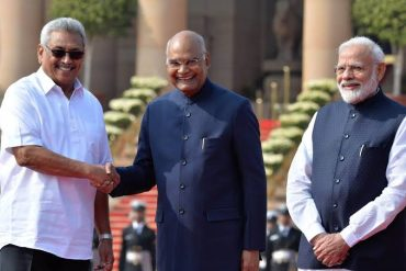 President of India hosts President of Sri Lanka; Says India wants Sri Lanka to be part of its growth story