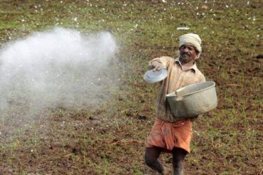 Unequal use of fertilizers and pesticides