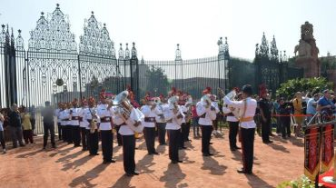 No 'Change of Guard' Ceremony on this Sunday