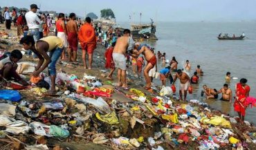 Cleaning of Ganga River
