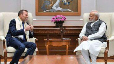 PM's Meeting with Mr. Tony Abbott, Former Prime Minister of Australia