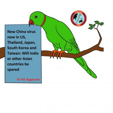New China virus now in US, Thailand, Japan, South Korea and Taiwan: Will India or other Asian countries be spared