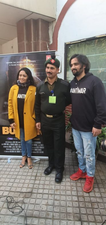 Special screening of BUNKER film held for Indian Armed forces on account of Army Day in Delhi