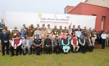 Shri Amit Shah dedicates to the Nation the new campus of National Fire Service College (NFSC) and laid the foundation of National Disaster Response Force (NDRF) Academy in Nagpur
