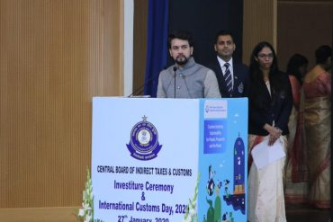 CBIC has a big role in India's rise in Ease of Doing Business rankings : Shri Anurag Thakur