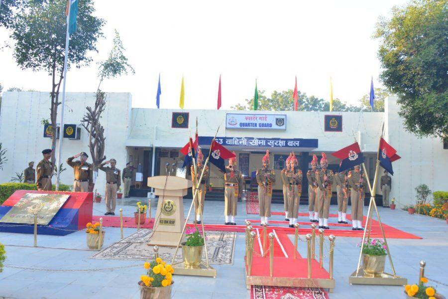 BSF Frontier HQ GUJARAT, Gandhinagar Celebrated Republic Day