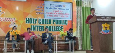 बैंक ऑफ इंडिया ने होली चाइल्ड पब्लिक इंटर कॉलेज के विद्यार्थियों संग  विश्व हिन्दी दिवस मनाया