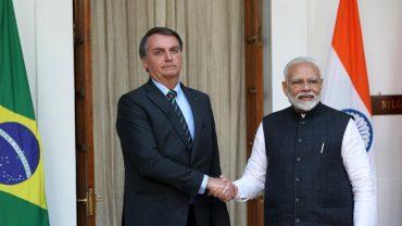 India-Brazil set target of USD 15 billion trade by 2022