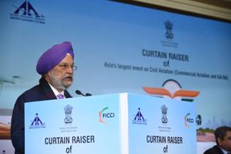 'Indian skies are in for very promising times; Win-Win opportunities await all the stakeholders in the Civil Aviation Sector'': Hardeep Singh Puri
