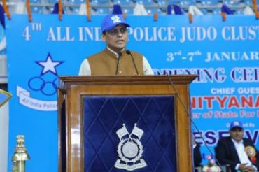 Shri Nityanand Rai inaugurates 4th All India Police Judo Cluster Championship 2019