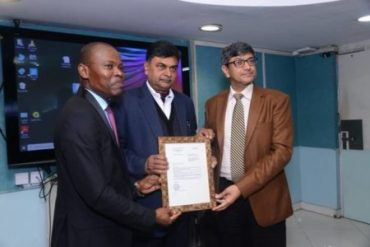 Tongo hands over letter of engagement to NTPC as PMC for about 300 MW solar power projects in Togo