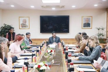 India Russia relations will reach newer heights in times to come, says Shri Dharmendra Pradhan during interaction with Russian media delegation