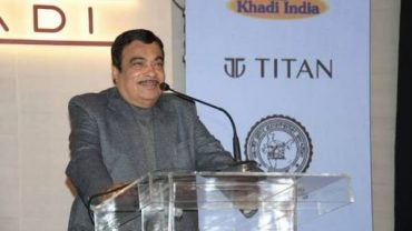 Shri Nitin Gadkari Launches Special Edition of Khadi Watches