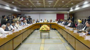 Prime Minister says Government open for discussion on all issues in the forthcoming Budget Session of Parliament