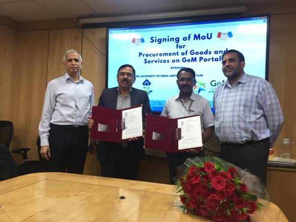 GeM MoU with UP state for Project Management Unit