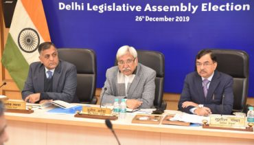 ECI organizes briefing meeting of General, Police and Expenditure Observers for the Assembly Elections in the NCT of Delhi