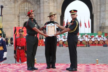 Army Personnels Stationed In Gujarat Get Awards In Southern Command Investiture Ceremony At Gateway Of India, Mumbai