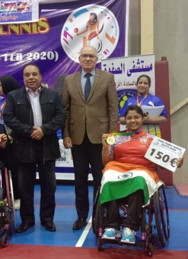 Ahmedabad's Bhavina Clinches Gold At Para Table Tennis Egypt Open