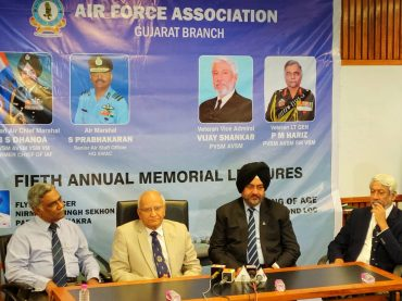 Fifth Flying Officer Nirmaljit Singh Sekhon Param Vir Chakra Annual Memorial Lectures On National Security In Ahmedabad