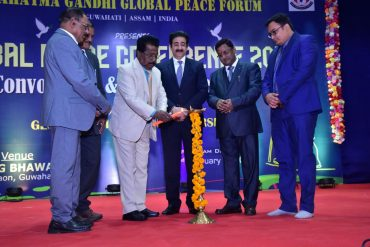 Vipin Gaur, General Secretary NAI,Conferred with Prestigious global peace Ambassador award by Mahatma Gandhi Peace Forum in Guwahati.