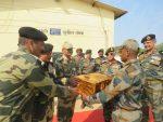 Lieutenant General CP MOHANTY AVSM SM VSM, Army Commander, Southern Command Visits Bhuj And Rann In Gujarat