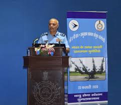 "CAPS – HQ MC Joint Seminar on ""Challenges of the Evolving Threats Facing India"" at Air Force Station Tughlakabad, New Delhi"