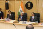 ECI Reviews Delhi's Poll Preparedness with CEO Delhi, Chief Secretary, Commissioner Police & Senior Officers of Delhi Administration
