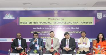 National Workshop on Disaster Risk Financing, Insurance and Risk Transfer held in Mumbai