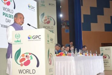 Government aims to make India a surplus country in terms of pulses production: Shri Narendra Singh Tomar