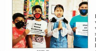 Children Spread Awareness On COVID-19
