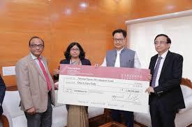 Under CSR initiative, SPMCIL contributes Rs 1 crore towards National Sports Development Fund