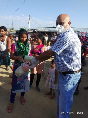 A Helping Hand Extended In Testing Times : Tatparivartan Foundation