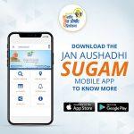 "Over 325000 people are using ""Janaushadhi Sugam"" Mobile App to access Janaushadhi kendras"