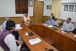 Union Minister of Rural Development & Panchayati Raj Shri Narendra Singh Tomar issues guidelines regarding the SVAMITVA scheme, a new initiative of the Ministry of Panchayati Raj